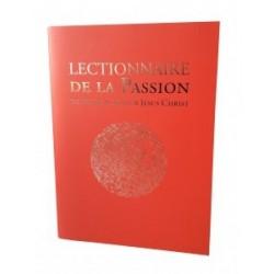 Lectionnaire de la Passion (livret seul)