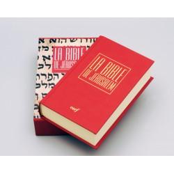 Bible de Jérusalem - Poche reliée rouge - Sous coffret