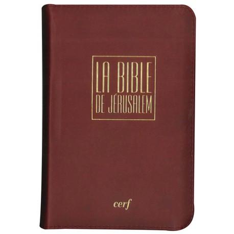La Bible de Jérusalem - Poche luxe