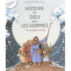 Histoire de Dieu avec les hommes - Frise chronologique de la Bible (pack 10 exemplaires)