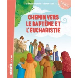 Chemin vers le baptême et l'Eucharistie - Enfant (pack 10 exemplaires)