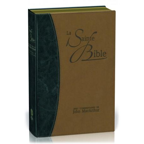 Bible Segond NEG 1979 (commentaires de MacArthur) - éd. prestige