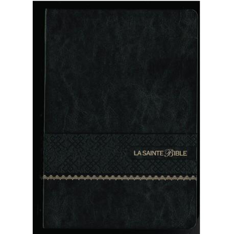 La Sainte Bible - Segond 1910 - Gros caractères - Noire