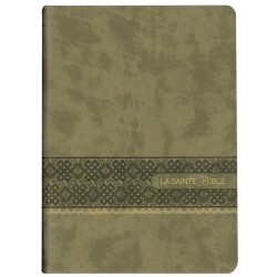 La Sainte Bible - Segond 1910 - Gros caractères - Marron