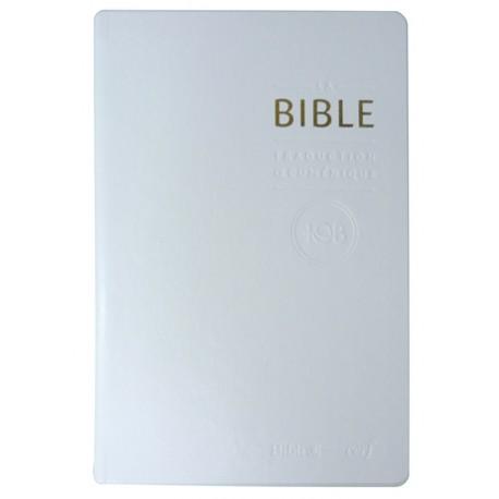 La Bible TOB - Notes essentielles - Blanc
