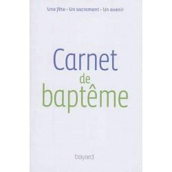 Carnet de baptême (pack 10 livrets)