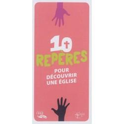 10 repères pour découvrir une église (pack 10 ex)