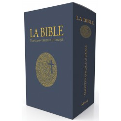 La Bible - Traduction officielle liturgique - Edition cadeau - Tranche dorée