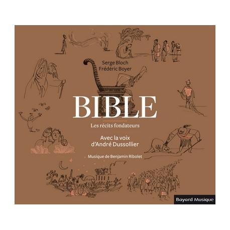 Bible - Les récits fondateurs - Double CD