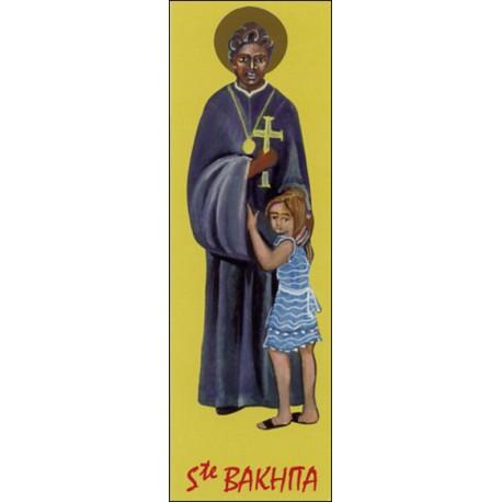 Signet Sainte Bakhita ( lot de 10 signets)