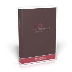 Bible d'étude Thompson 21 Sélection - Rigide