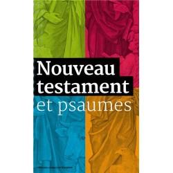 Nouveau Testament et Psaumes - Grand format