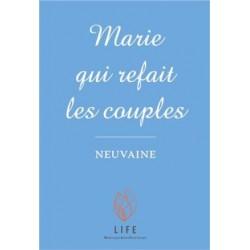 Marie qui refait les couples - Neuvaine (lot de 10 livrets)