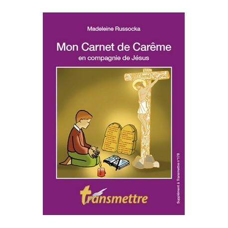 Mon Carnet de Carême en compagnie de Jésus - Lot de 10 livrets