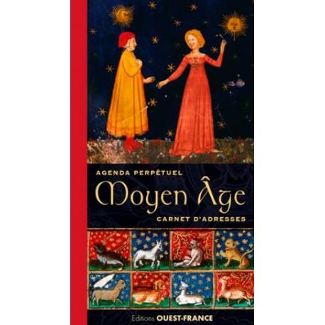Moyen Age - Agenda perpétuel et carnet d'adresses