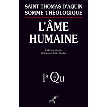 L'âme humaine : I-a Q75-83