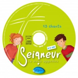 CD enfant compilation 13 chants - Seigneur tu nous appelles