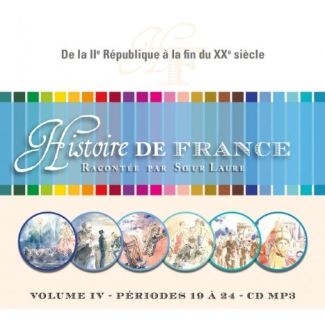Histoire de France IV - CD mp3