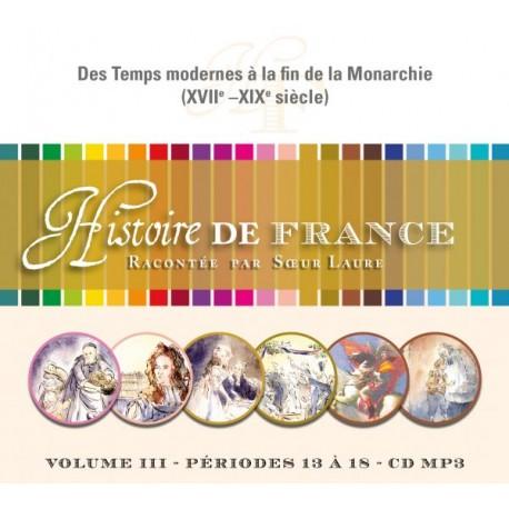 Histoire de France III - CD mp3