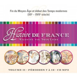 Histoire de France II - CD mp3