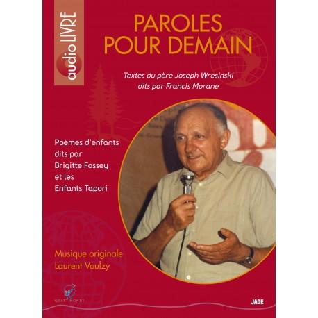Paroles pour demain - Audio livre - CD