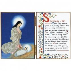 Diptyque religieux La Nativité