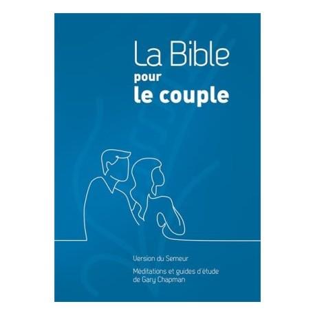 La Bible pour le couple - Version Semeur 2015 - Couverture rigide bleue