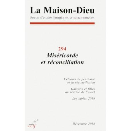 Miséricorde et réconciliation