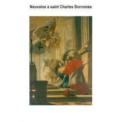 Neuvaine à saint Charles Borromée (lot de 10 livrets)
