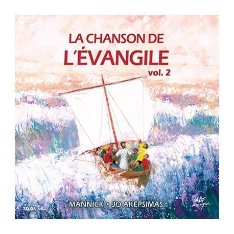La chanson de l'Evangile volume 2 - CD