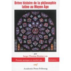 Brève histoire de la philosophie latine au Moyen Age
