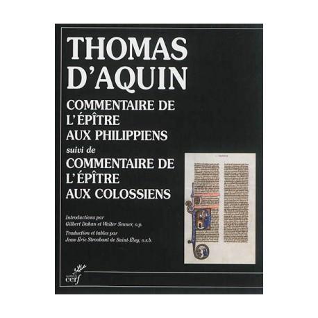 Commentaire de l'épître aux Philippiens - Commentaire de l'épître aux Colossiens