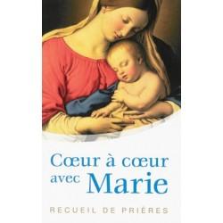 Coeur à coeur avec Marie, recueil de prières