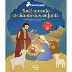 Noël raconté et chanté aux enfants (livre Cd Mp3)