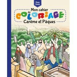 Mon cahier de coloriage - Carême et Pâques (lot de 10)