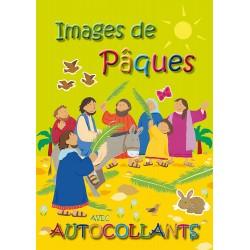 Images de Pâques avec autocollants (lot de 10)