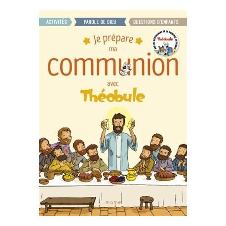 Je prépare ma communion avec Théobule (lot de 10 livrets)
