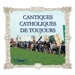 Cantiques catholiques de toujours, vol 1 - CD