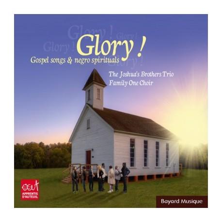 Glory ! Gospel songs & negro spirituals CD