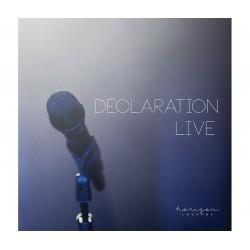 Déclaration Live CD