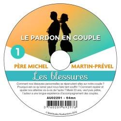 3 CD Conférences Le pardon en couple