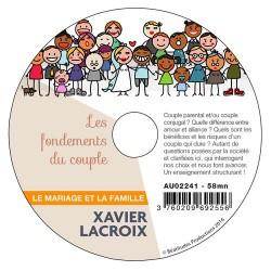 4 CD Conférences Le mariage et la famille