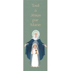 """Lot de 25 - Signet """"Communion Marie"""""""