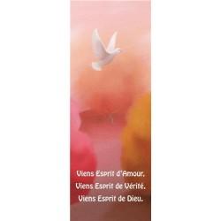 """Lot de 20 - Signet """"Viens Esprit d´Amour"""""""