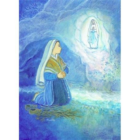 LOT DE 20 - Carte Postale Maîte Roche Sainte Bernadette de Lourdes