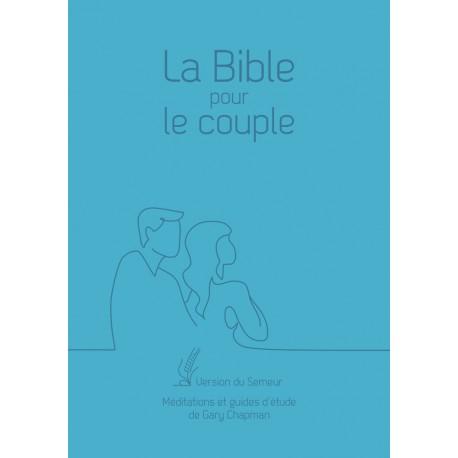 La Bible pour le couple. Couverture souple bleue [Relié]