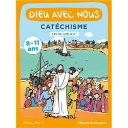 Dieu avec nous - Parcours C - Livre enfant Catéchisme pour les 8-11 ans