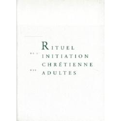 Rituel de l'initiation chrétienne des adultes (livre de travail)