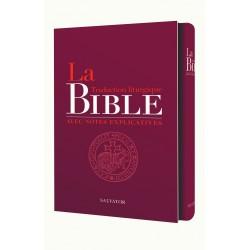 La Bible traduction liturgique avec notes explicatives - couverture cuir