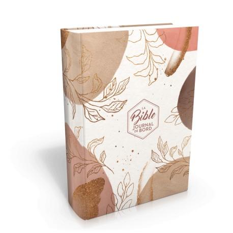 Bible Segond 21 Journal de bord couverture rigide, toile imprimée motifs